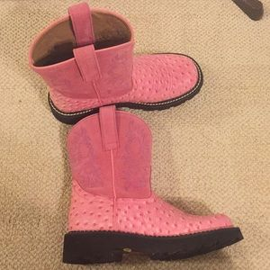 Ariat Fatbaby Pink Boots